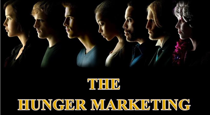 Hunger marketing 2